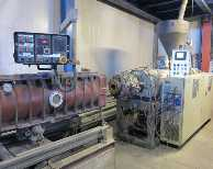 Go to Extrusion line for PVC pipes CINCINNATI EXTRUSION CMT-58