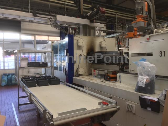 BATTENFELD - TM 550/4500 Unilog B4  - Used machine - MachinePoint