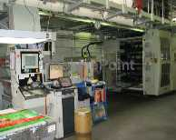 8 Colours CI Flexo Printing Machines - SCHIAVI - EF 4020