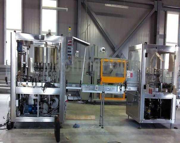 Bardzo dobryFantastyczny Uzywane maszyny Kompletne Linie Rozlewnicze Do Butelek Szklanych KO89