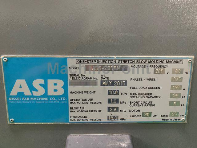NISSEI ASB - 70 DPH V4 - Machine d'occasion - MachinePoint