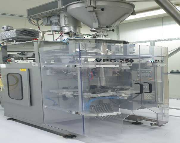 Used WOLF VPC 250 of 2015 for sale | Machinepoint