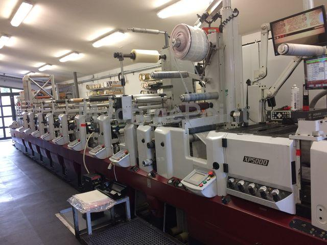 Go to Label flexo printing machines MARK ANDY XP 5000