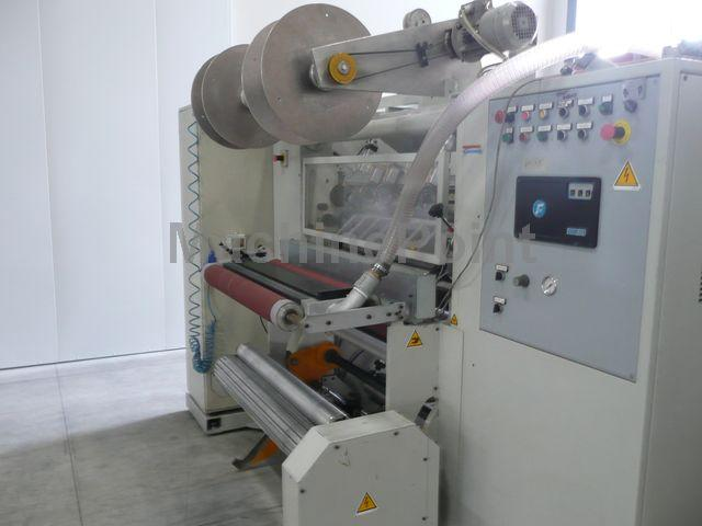Go to Double-shaft film slitter-rewinders TCE SLA 600-STD