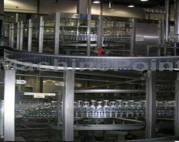 Poważnie Uzywane maszyny Maszyny Rozlewnicze Do Butelek Szklanych Do Wody I JV08
