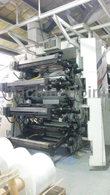 8 Colours CI Flexo Printing Machines - CMF - Flexi 8 120