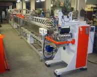 Go to Extrusion line for profiles of other thermoplastics CANZIANI TR - 60/30
