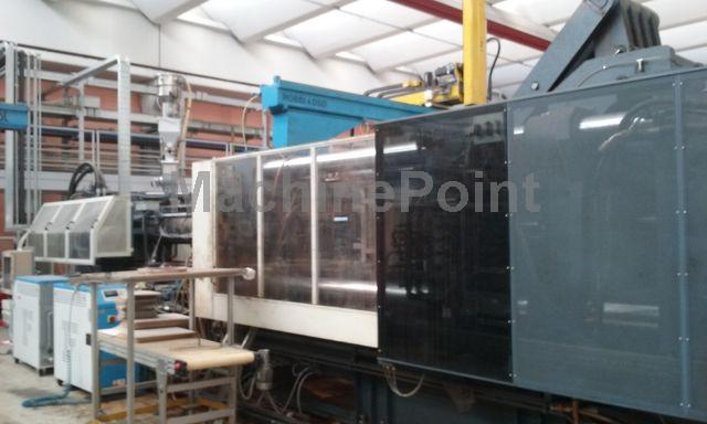 Go to 4. Injection molding machine from 1000 T MAICO M-L 1200