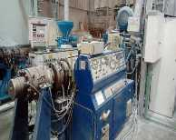 Go to Extrusion line for PVC pipes INDUSTRIE GENERALI CGB 100 - 21D