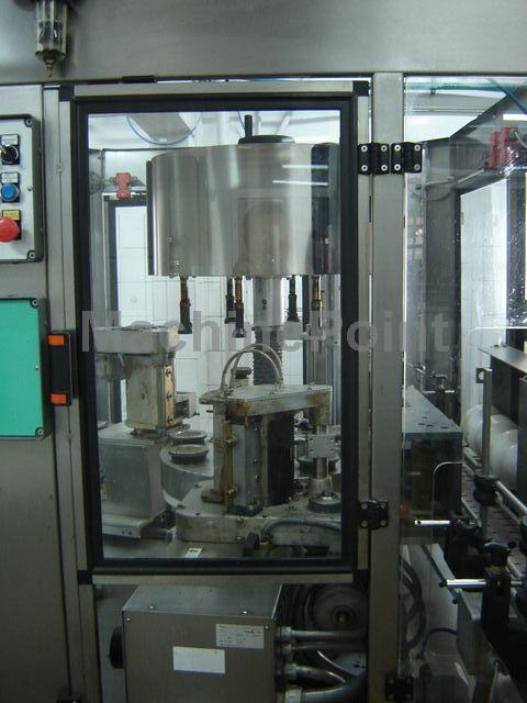 去 PET labelling machine KOSME hot-melt