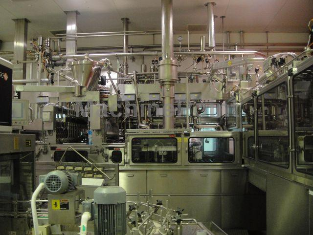 Go to Dairy bottling Line