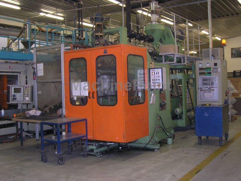 Devam et Extrusion Blow Moulding machines from 10 L UNILOY BW 20