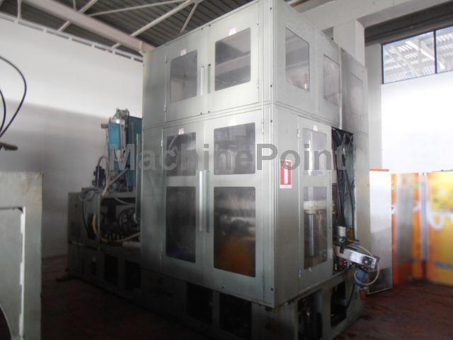 Devam et Injection stretch blow moulding machines for PET bottles AOKI SBIII 350LL-40