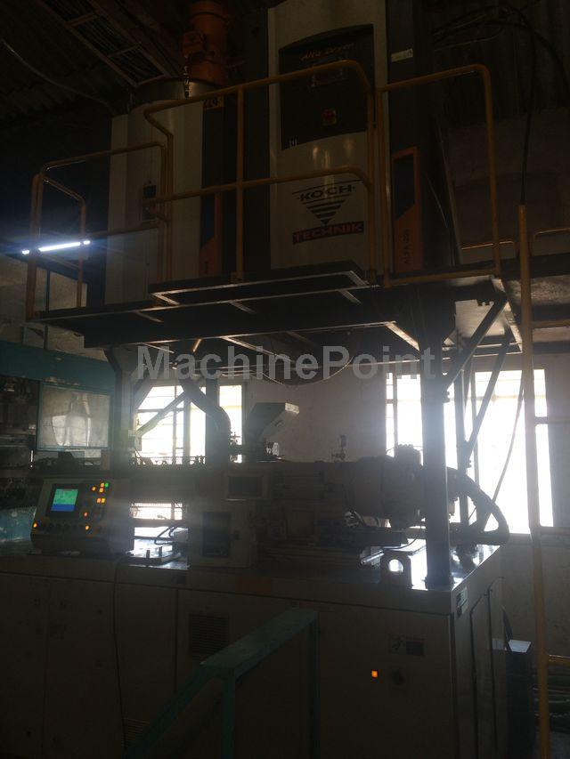 Go to Injection stretch blow moulding machines for PET bottles