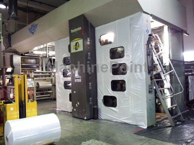 Go to 10 Colours CI flexo presses FLEXOTECNICA 10 NG