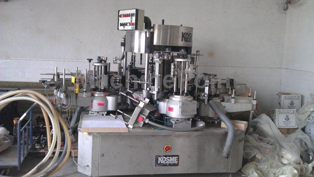 Go to Labelling machine for glass bottle KOSME Extra Fix 9T S3 +S