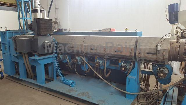 去 Extrusion line for PE/PP pipes AMUT EA100