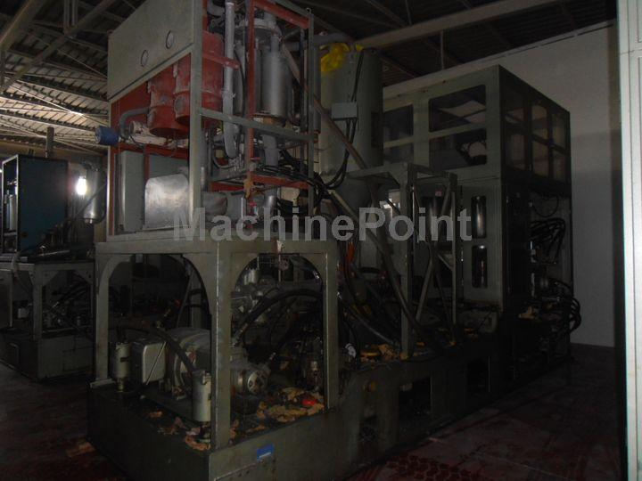 Devam et Injection stretch blow moulding machines for PET bottles AOKI SBIII 500LL-75