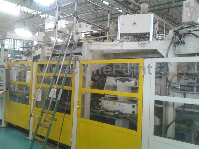 去 Extrusion Blow Moulding machines from 10 L BATTENFELD FISCHER FMB 4-12/100D COEX 3 layers