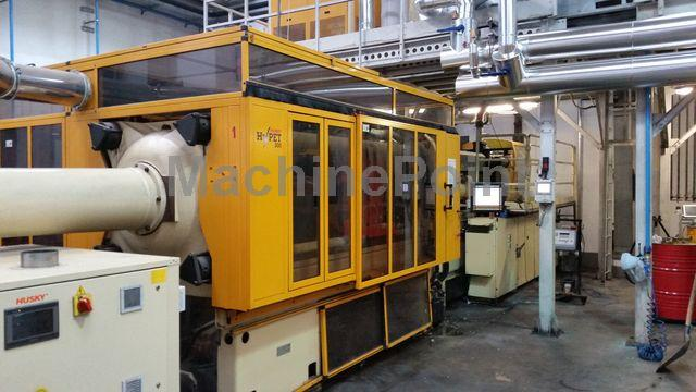 Go to Injection moulding machine for preforms HUSKY HyPET 300 P100/110 E 120