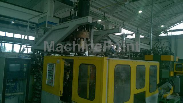 去 Accumulation Head Extrusion blow moulding machine UNILOY M10L