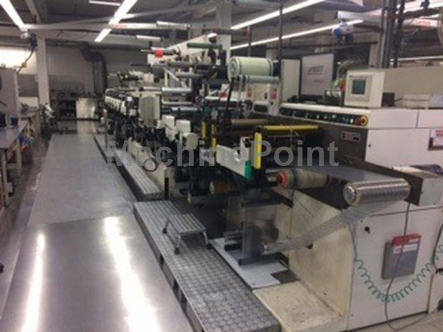 Ugrás az Label flexo printing machines NILPETER FA3300