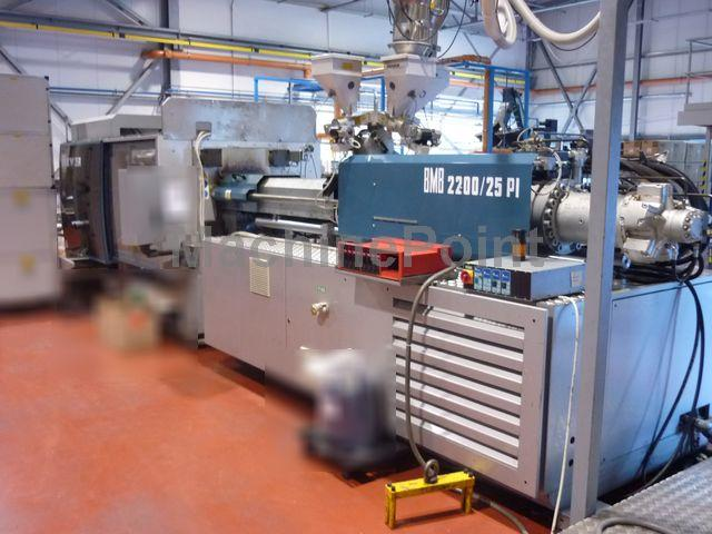 Go to Injection moulding machine for food and beverages caps BMB 25PI/2200