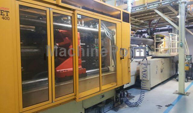 Go to Injection moulding machine for preforms HUSKY HYPET 400 HPP P120/130 E140LL