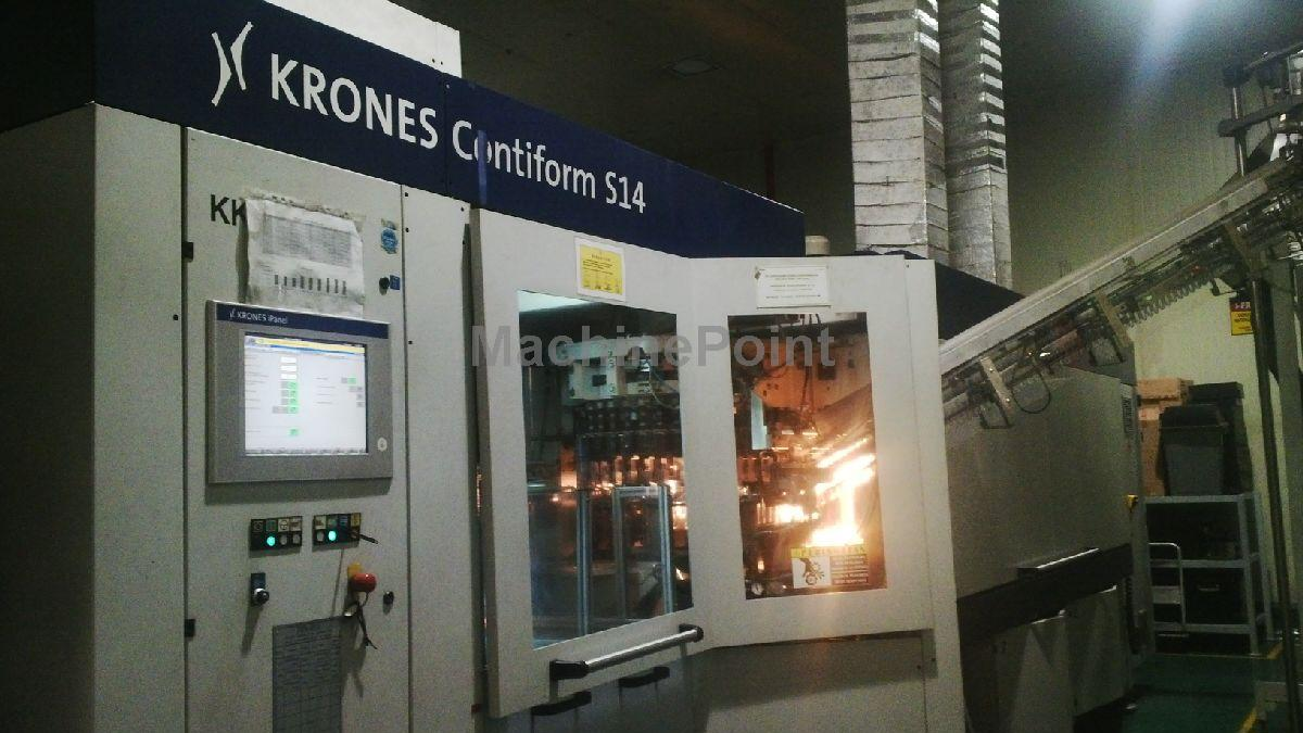 去 Stretch blow moulding machines KRONES AG Contiform S14