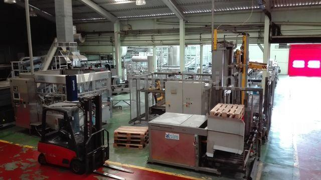 去 Complete filling lines for carbonated drinks SIDEL SIDEL/ALSIM/SMI