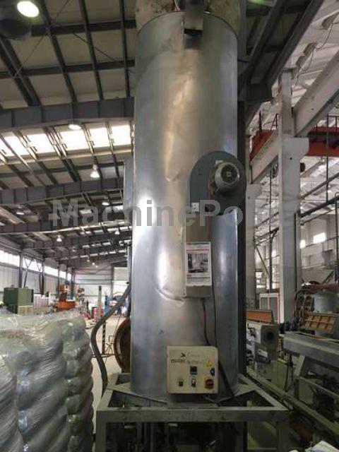 去 Extrusion line for PE/PP pipes BATTENFELD BEX 1-75-25 B