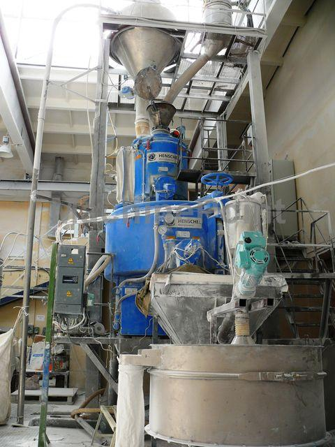 Idź do High speed mixers HENSCHEL FM600/KM1750