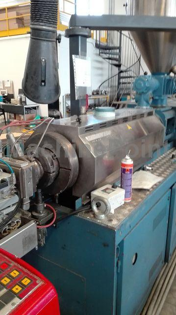 К Twin-screw extruder for PVC BAUSANO MD2-66C19-HK