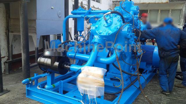 Devam et Air Compressors (High Pressure) SIAD WS3/580-A3