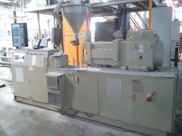 Devam et Extrusion line for corrugated pipes DROSSBACH HD 250.38