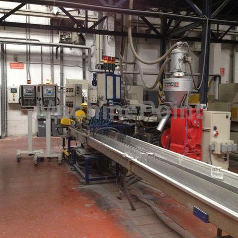 Devam et Extrusion line for corrugated pipes CINCINNATI Proton 60-25B / Proton 60-30G