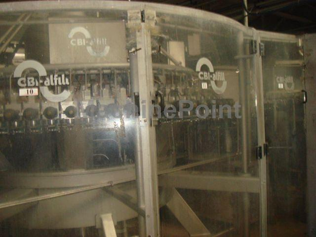 去 Complete filling lines for carbonated drinks CBI ALFILL Volufill 40-80-10