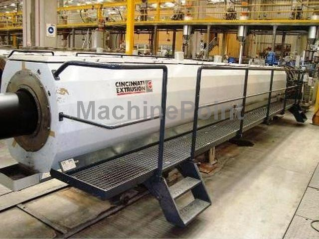 Go to Complete downstream lines for PE/PP tubes BATTENFELD  CINCINNATI EXTRUSION ø 315 - ø 630 mm