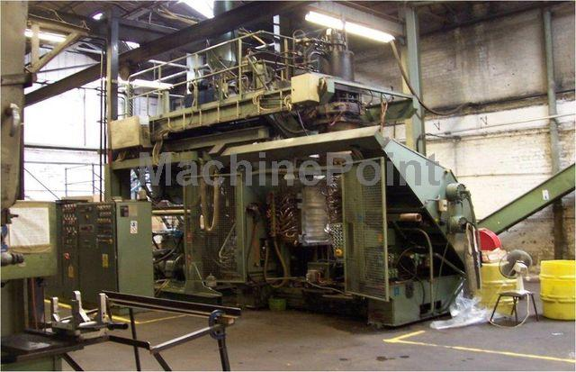 去 Accumulation Head Extrusion blow moulding machine KAUTEX KB 250
