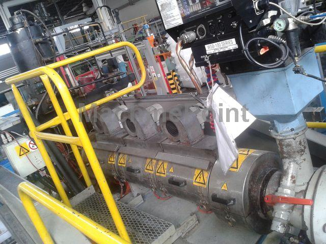 去 Accumulation Head Extrusion blow moulding machine UNILOY UMA 25.80.3