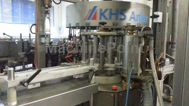 Go to Labelling machine for glass bottle KHS Innoket - ORLAND 24/6 2 KL VD opt. AR