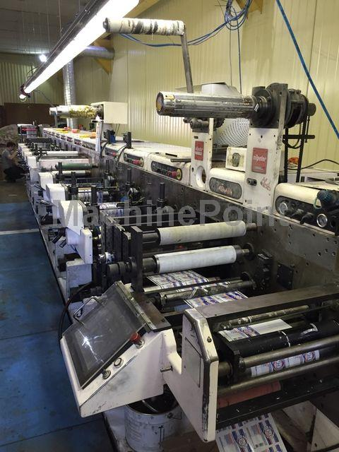 Go to Label flexo printing machines NILPETER FA 3300