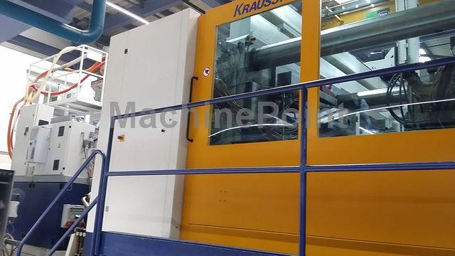 Go to 4. Injection molding machine from 1000 T KRAUSS MAFFEI 1600/12000/390 MZ Spin