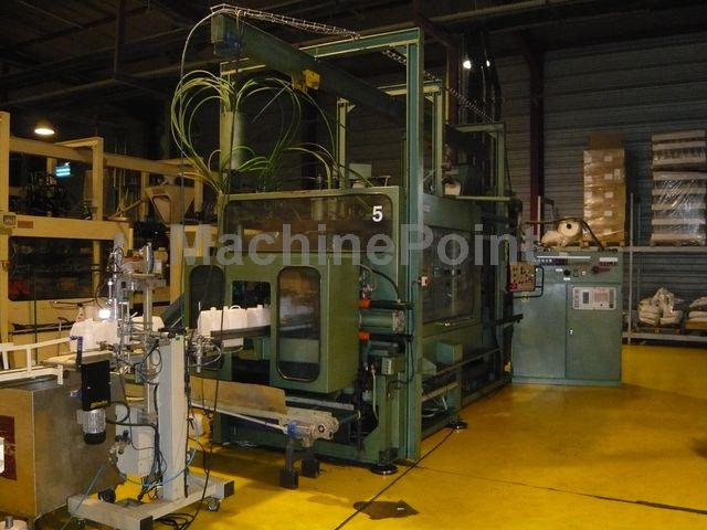 Devam et Extrusion Blow Moulding machines up to 10L SERTA ESH10 L