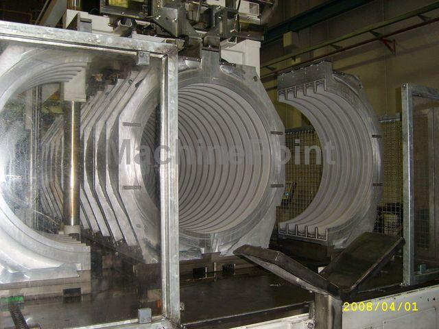 Devam et Extrusion line for corrugated pipes UNICOR UC-1000/9iv