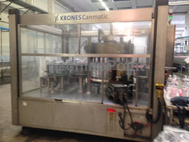 去 PET labelling machine KRONES AG Canmatic