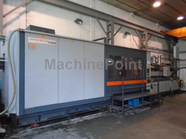 Go to 4. Injection molding machine from 1000 T SANDRETTO Mega 1000