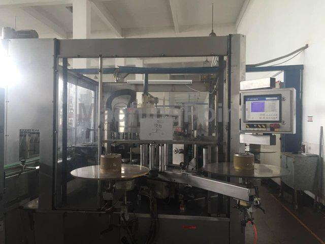去 PET labelling machine KRONES AG CONTIROLL