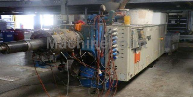 Go to Twin-screw extruder for PVC WEBER DS11.22