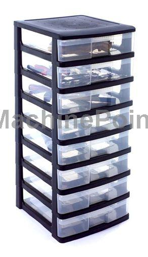 Ugrás az Injection moulding moulds  Big Storage Box Stackable - MODULO 8PM